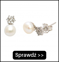 Srebrne kolczyki z perłą DE0008S