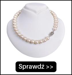 Srebrny Naszyjnik z Dużych Pereł N1011S3SP