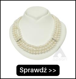 Złota naszyjnik z pereł BIWA N78x3G6092