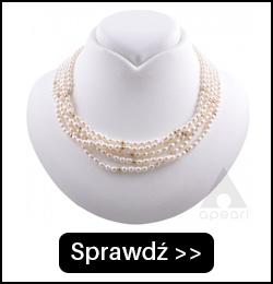 Złoty naszyjnik z drobnych pereł NR34x5G5